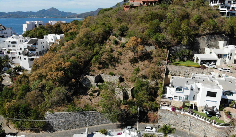 Foto dron lote vista hermosa manzanillo5