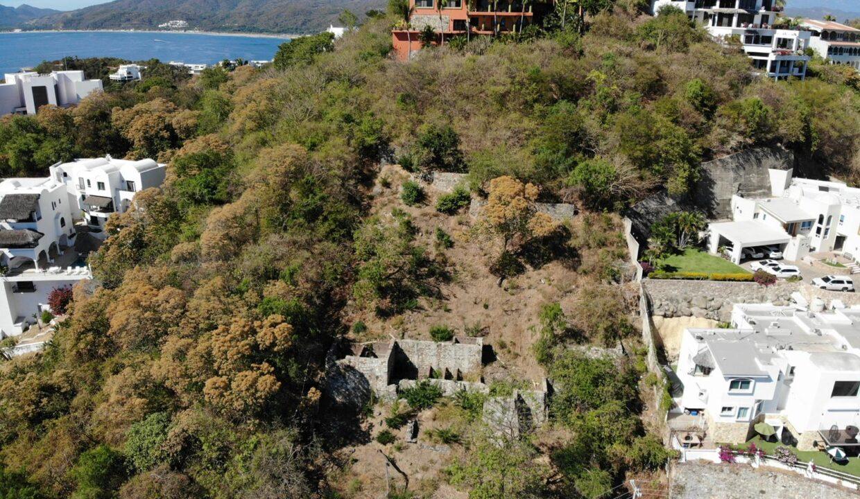 Foto dron lote vista hermosa manzanillo6