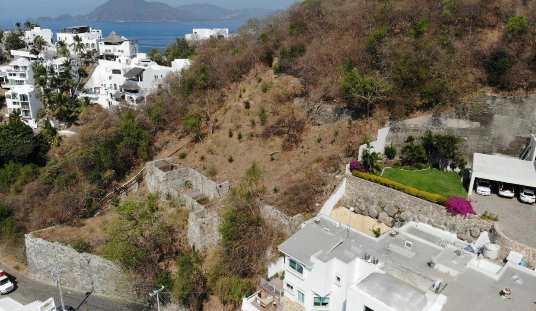 Foto dron lote vista hermosa manzanillo7