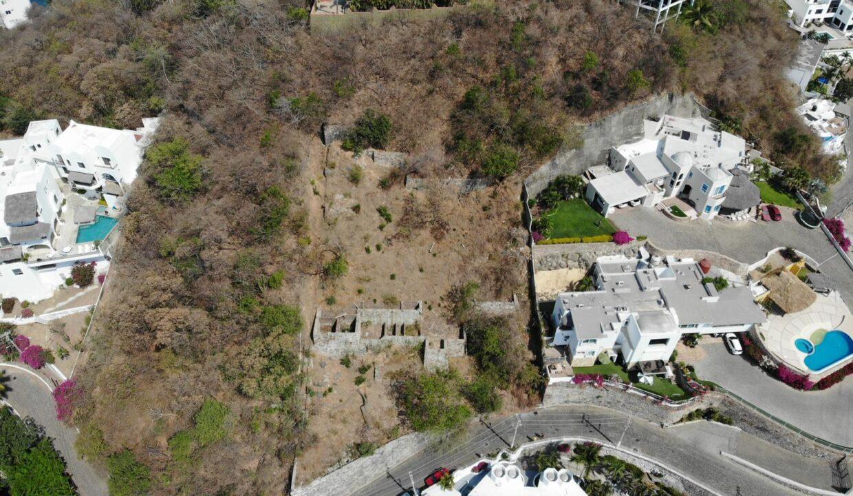 Foto dron lote vista hermosa manzanillo8