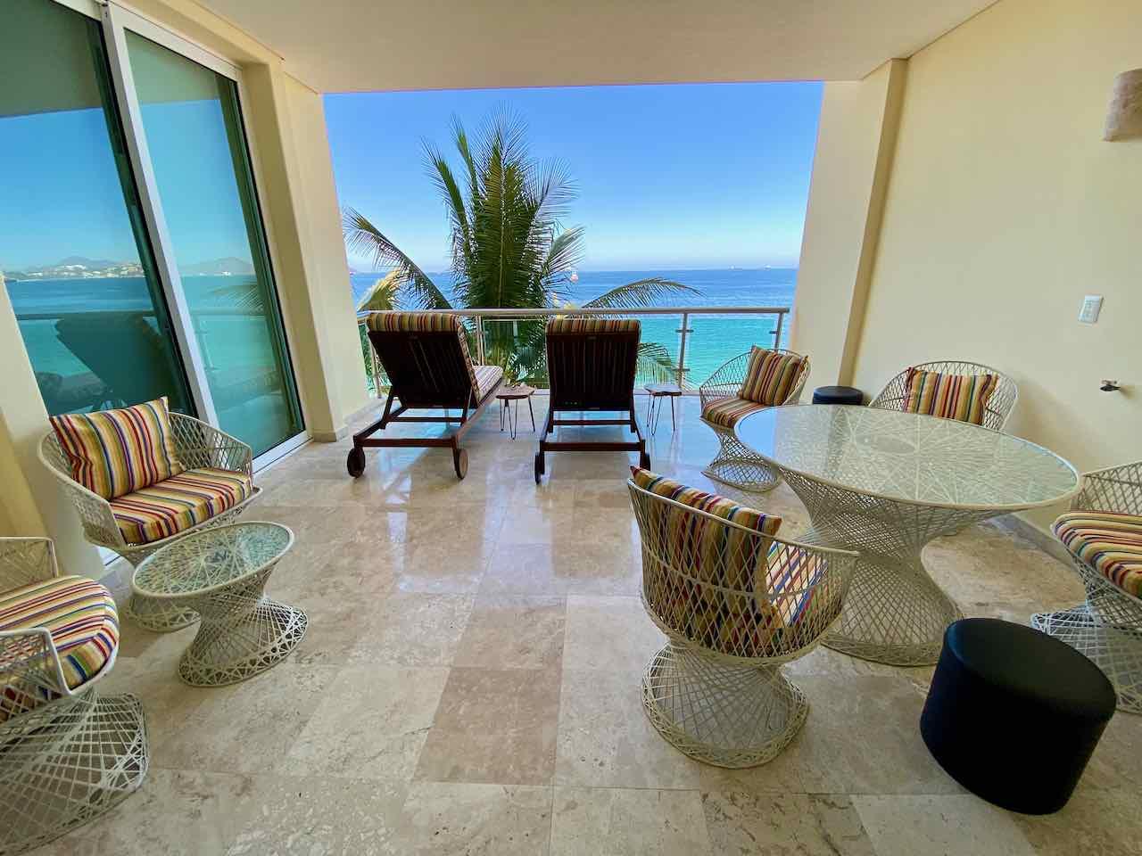 Luxury oceanfront condominium for sale in Las Brisas Manzanillo.