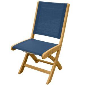 Three Birds Riviera folding side chair