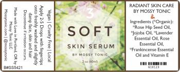 Soft Skin Serum Label