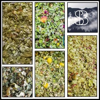 Smoldering Botanical Herbal Smoking Blends