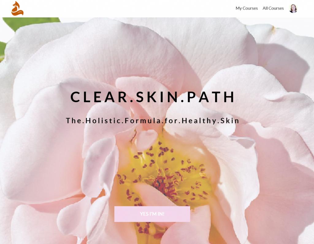 Clear Skin Path Course