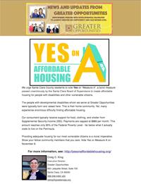 Greater Opportunities Email Newsletter November 1 2016