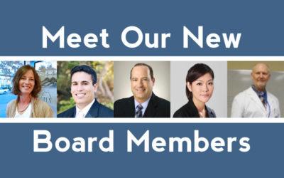 Meet Our New Board Members