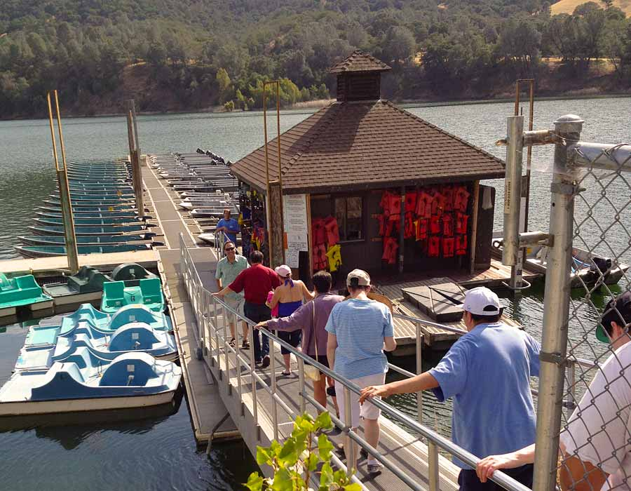 Greater Opportunities Summer Camp Boating 2012