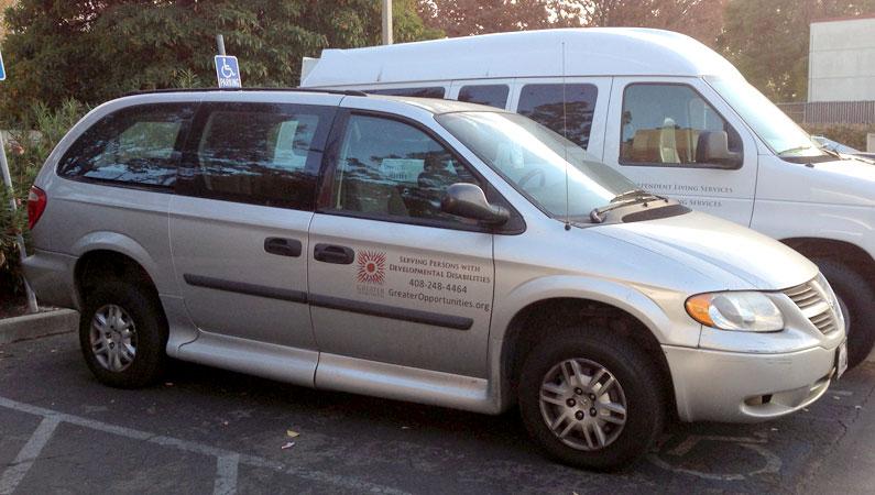 Photo of Stolen Grey Van