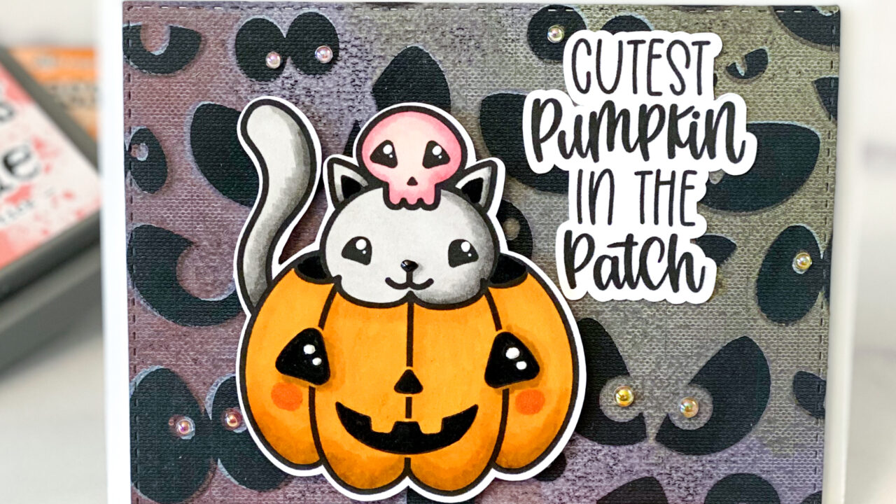 Cutest Pumpkin Digital Stamp Card