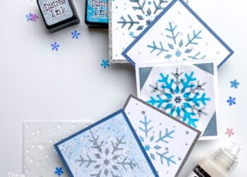 Glossy Accents Mini Cards
