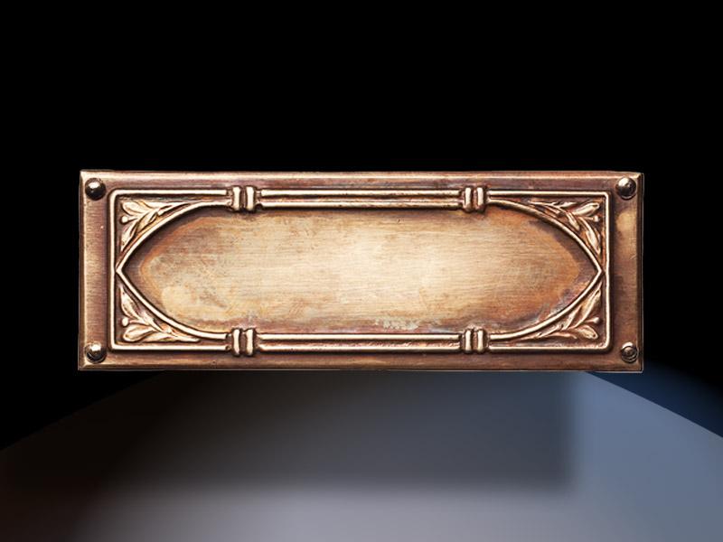 C38500 Brass Trim Plate