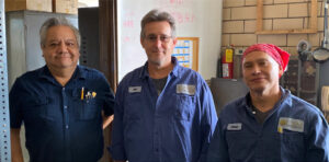 Plant workers and Chicago Extruded Metals