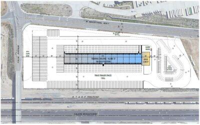 5770 Industrial Parkway, San Bernardino, Proposed 46k SF Cross Dock Facility, 100 Dock Positions