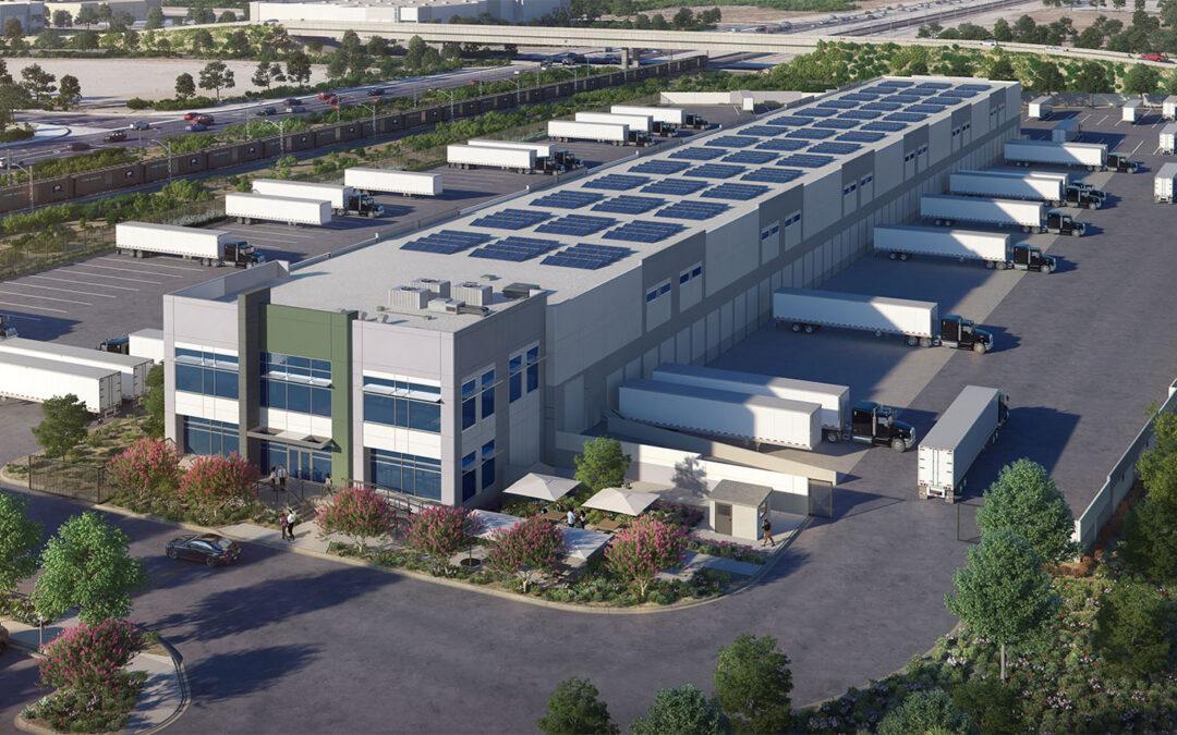 5770 Industrial Parkway, San Bernardino, Proposed 46k SF Cross Dock Facility, 100 Dock Positions, 89 Auto Stalls