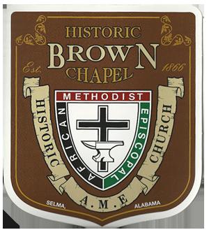 Brown Chapel A.M.E. Church logo