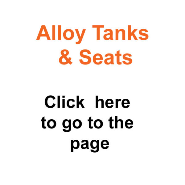 Alloy Tanks & Seats