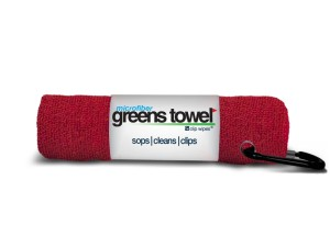 Microfiber Golf Towel Red