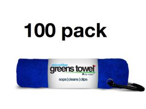 Royal Blue Golf Tournament Towels