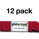 Cardinal Red 12 Pack Greens Towels