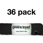 Jet Black 36 Pack Greens Towel