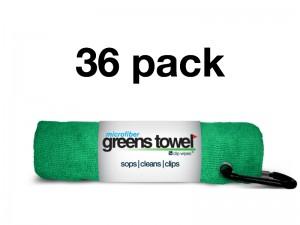Shamrock Green 36 Pack Greens Towels