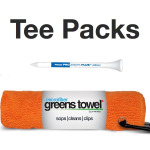 Golf Tournament Towels and Tees