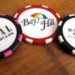 Golf Poker Chips