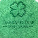 Custom laser etch golf towel