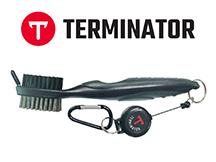 Golf Terminator Club Brush Black