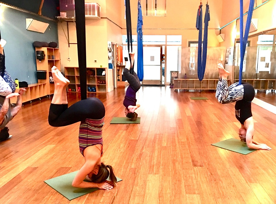 Aerial Yoga Flow SF Bay Area
