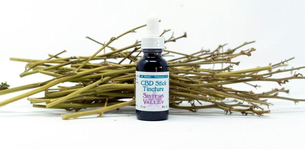 bottle of stick tincture