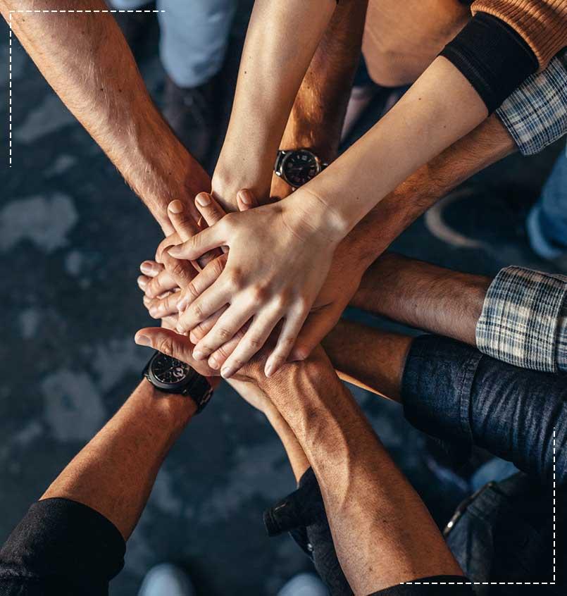 Symbol of teamwork