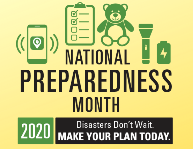 National Preparedness Month (NPM)