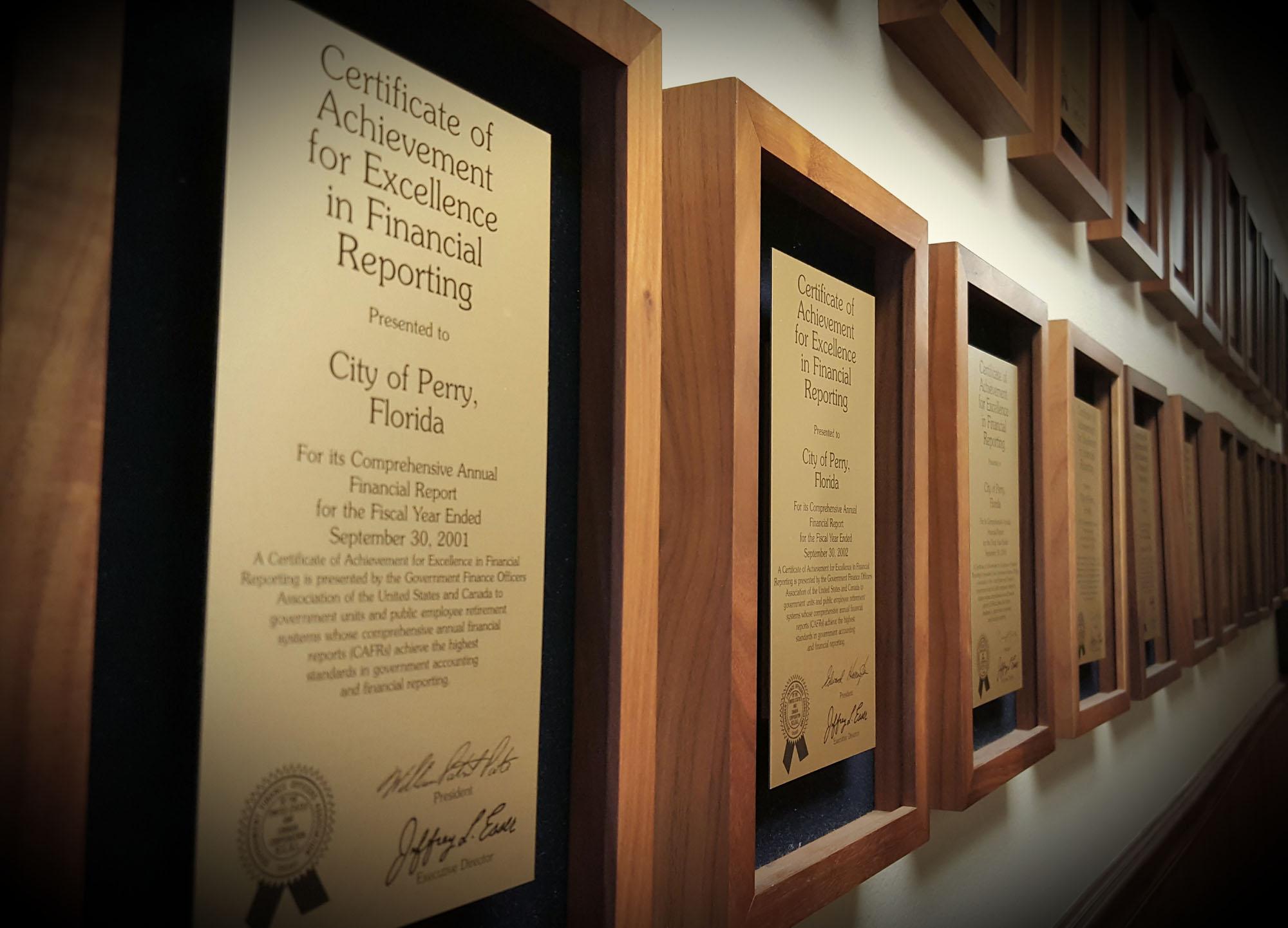 Financial Reporting awardsedited