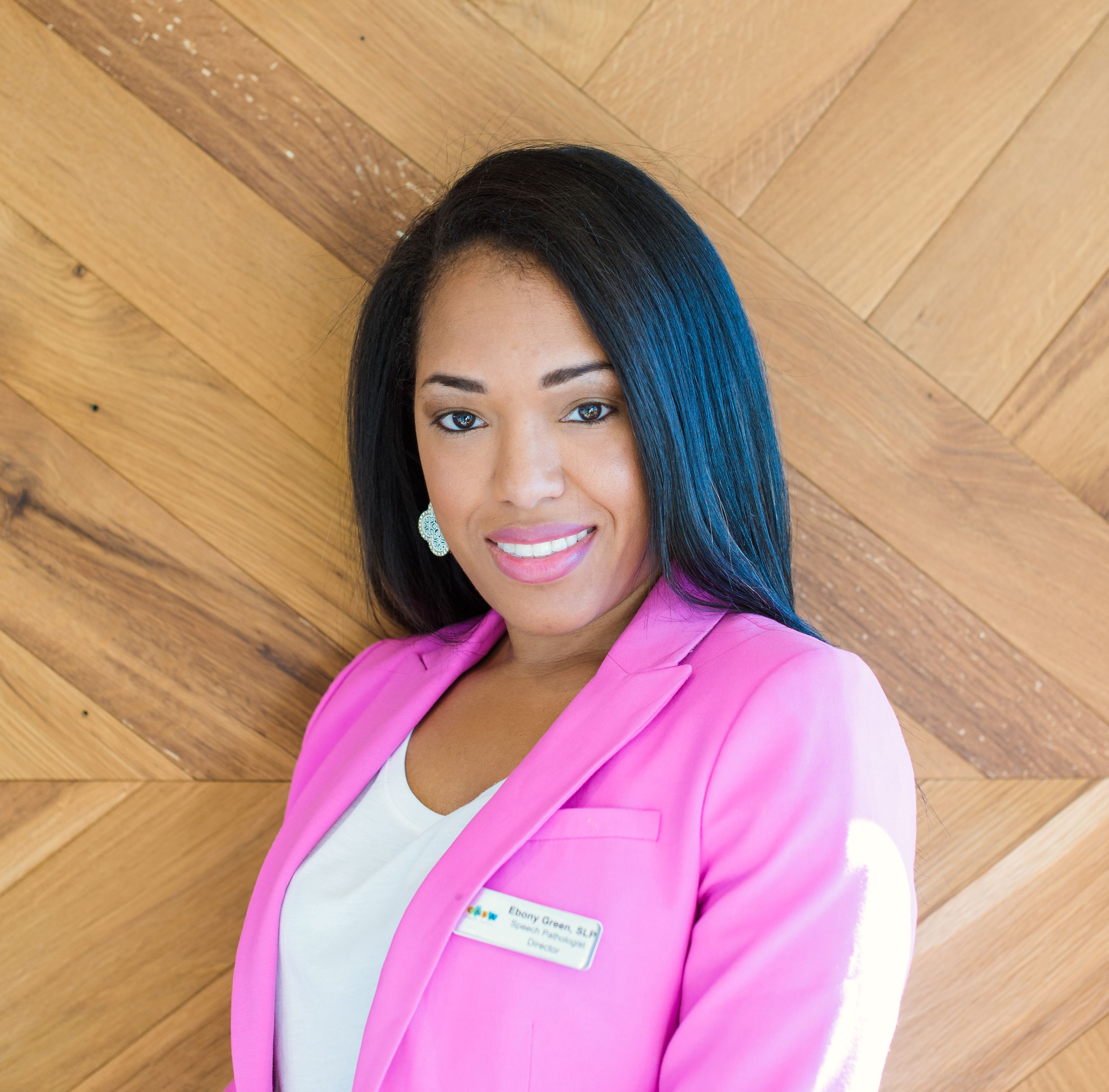 Business Owner, Mother Ebony Green