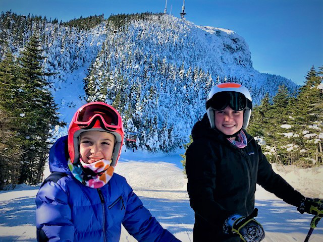 Move to VT and ski with family
