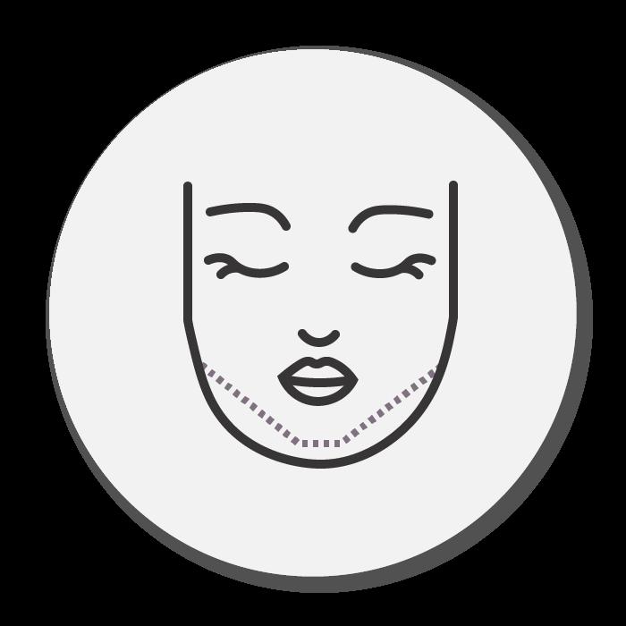 double chin treatment icon