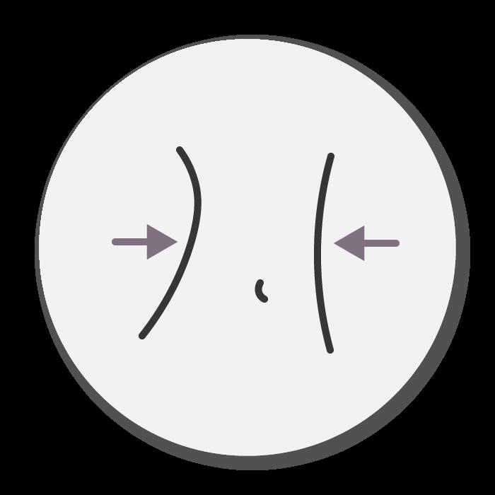reshape body icon