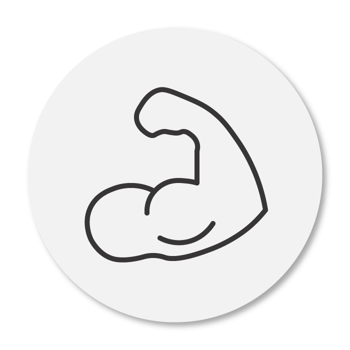 strengthen muscles icon