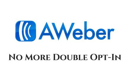 Aweber Turns Off Double Opt-In