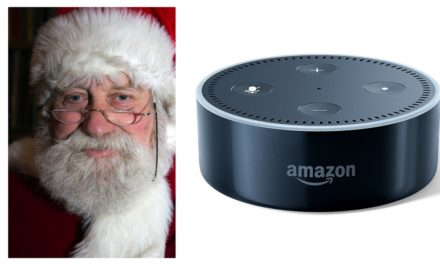 Santa Brought Me an Amazon Echo Dot