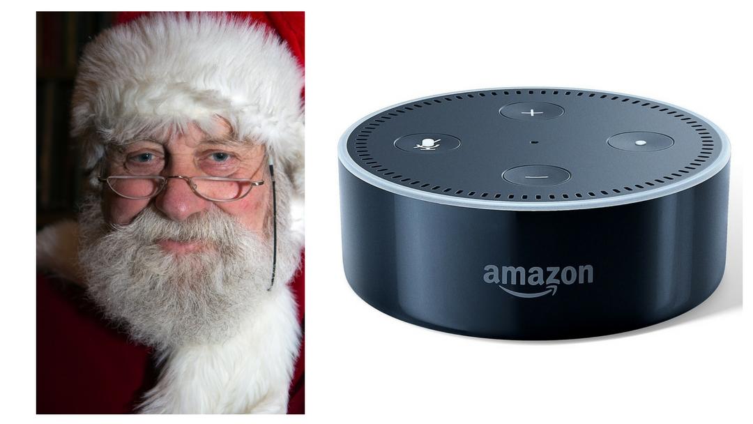 Santa Brought Me an Amazon Echo Dot