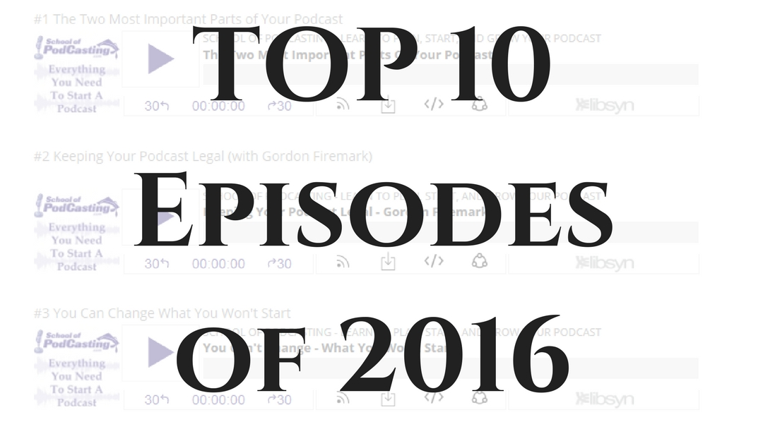 My Top Episodes of 2016