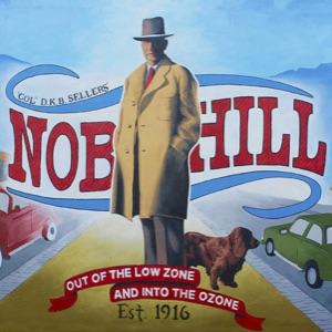 100 Year Anniversary Mural of D.K.B. Sellers in Nob Hill