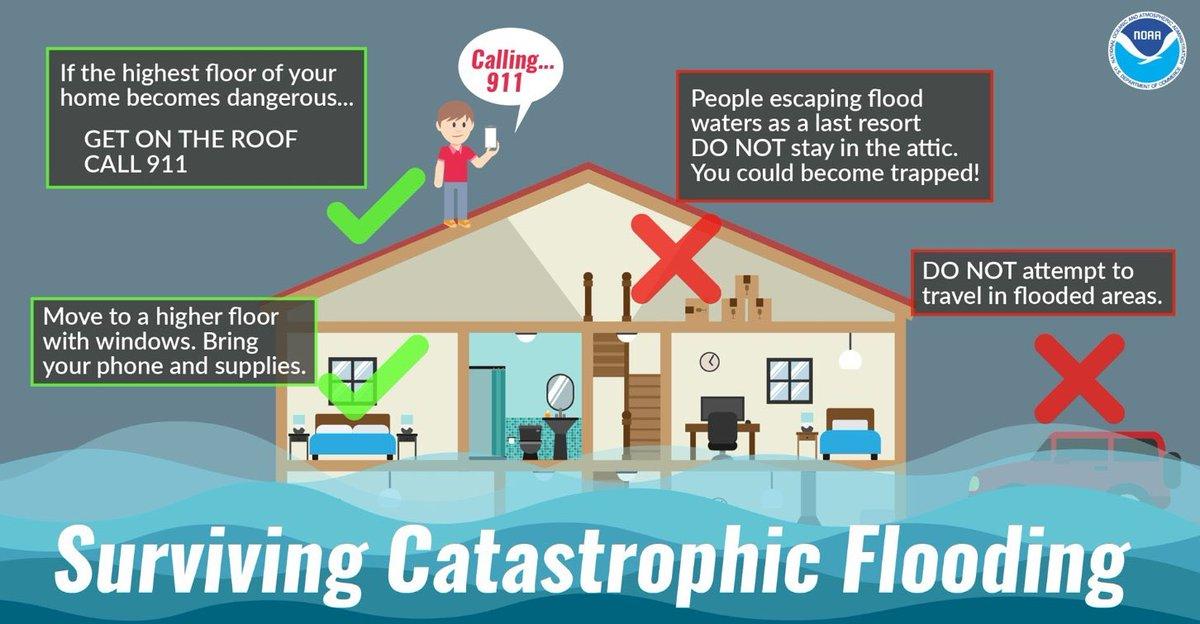 Flood FirstLIne Restoration Inc. Danger Hazard