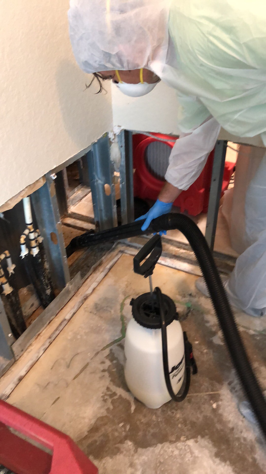 Mold remediation Zipwall Water Damage Emergency Service Containment