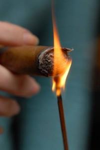 Relight a Cigar