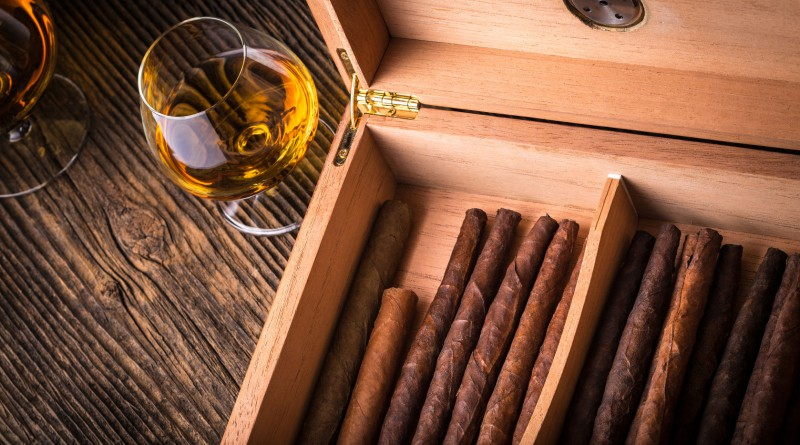 Cigar Humidors for Sale at Prohibition Spirits and Cigar Lounge