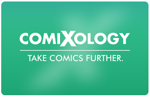 Links to our books on Comixology